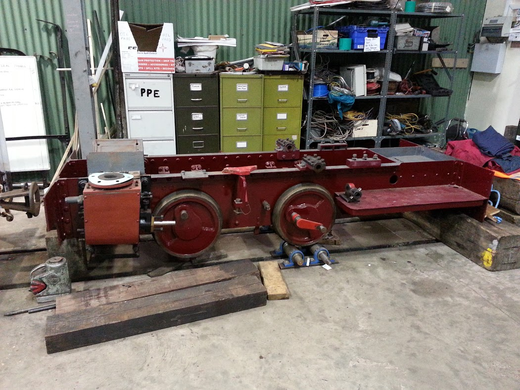 Lorna Doone Chassis Side