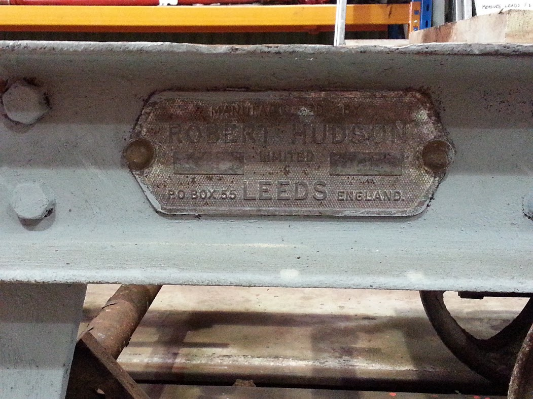 The works plate on the RNAD Flat