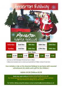 Santa Specials Train Ride