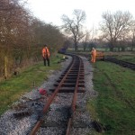 Winter Track Renewal Progress